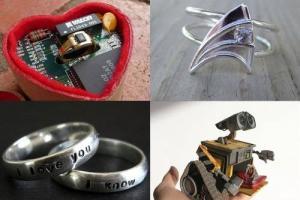結婚指輪が行き過ぎてる写真